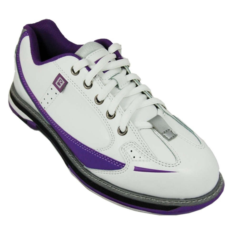 Brunswick Women s Curve White/Purple Bowling Shoes